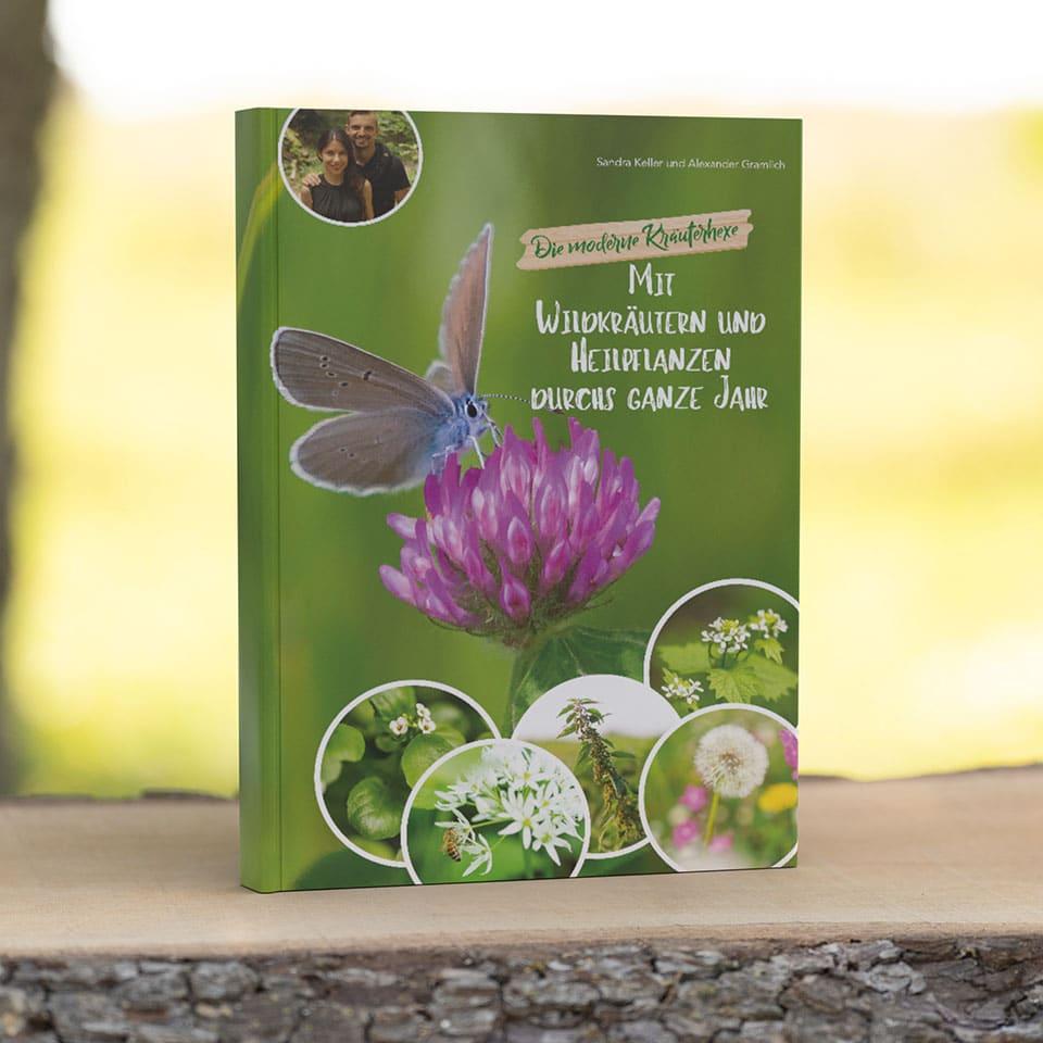 """Unser Buch """"Mit Wildkräutern und Heilpflanzen durchs ganze Jahr"""""""